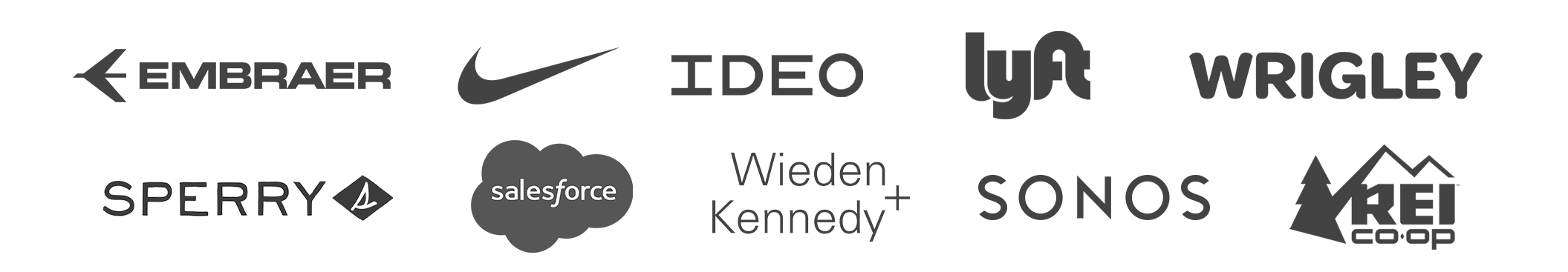 customer testimonial logos