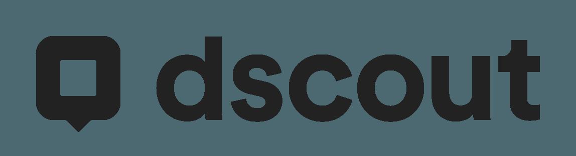 dscout logo gray @4x
